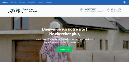 Site web d'entreprise muresan