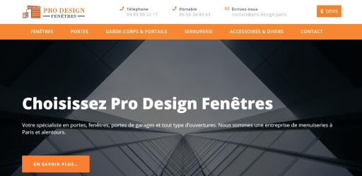 Site web de Pro Design